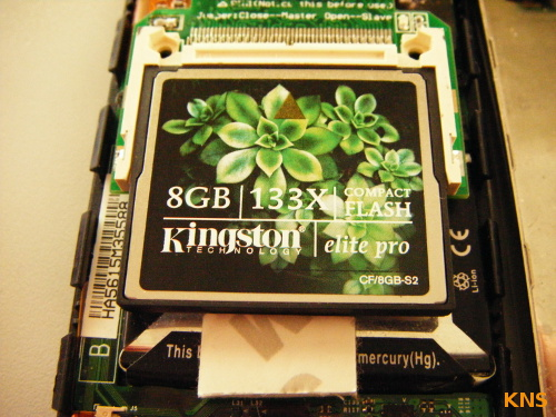 8GB Compact Flash iPod G4