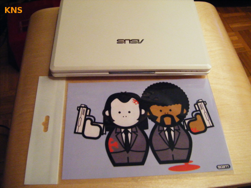Pulp Fiction para el Eee